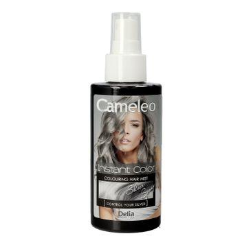 Delia Cosmetics Cameleo P艂ukanka do w艂os贸w w sprayu Silver 150 ml