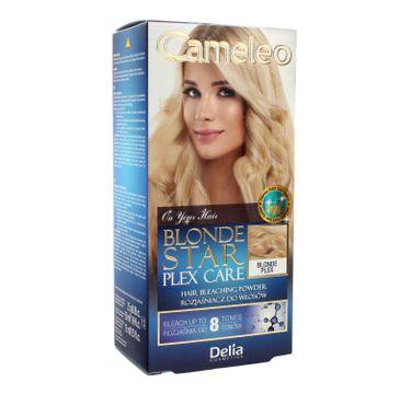 Delia Cosmetics Cameleo Rozjaśniacz do włosów Blonde Star Plex Care 1 op.