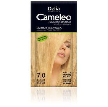 Delia Cosmetics Cameleo szampon do każdego typu włosów koloryzujący 7.0 blond 40 ml