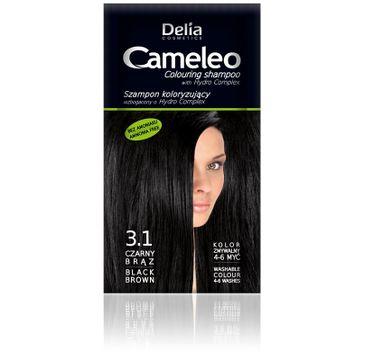 Delia Cosmetics Cameleo szampon do włosów koloryzujący 3.1 czarny brąz 40 ml