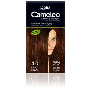 Delia Cosmetics Cameleo szampon do włosów koloryzujący 4.0 brąz 40 ml