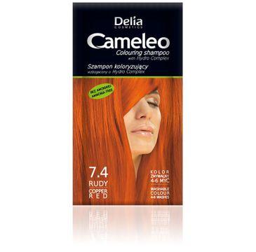 Delia Cosmetics Cameleo szampon do włosów koloryzujący 7.4 rudy 40 ml