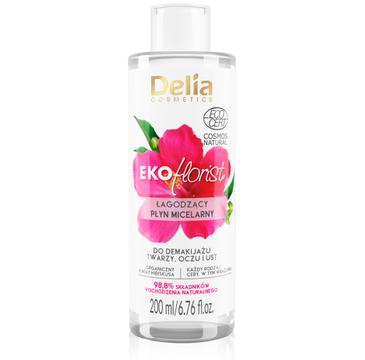 Delia Cosmetics Eko Florist Hibiskus Łagodzący Płyn micelarny do demakijażu (200 ml_