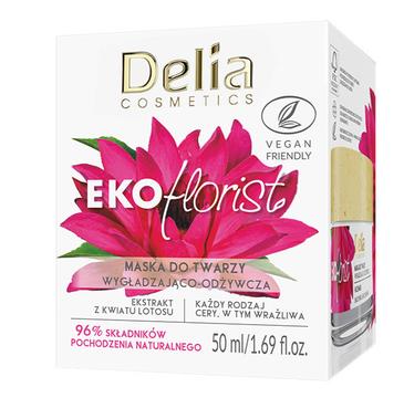 Delia Cosmetics Eko Florist Kwiat Lotosu Maska do twarzy wygładzająco - odżywcza (50 ml)