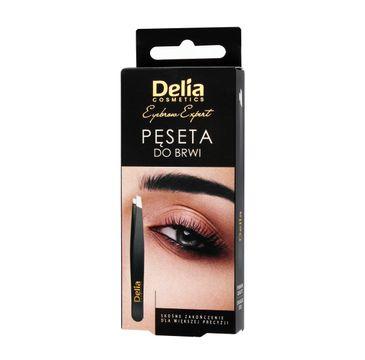 Delia Cosmetics Eyebrow Expert pęseta do brwi 1 szt.