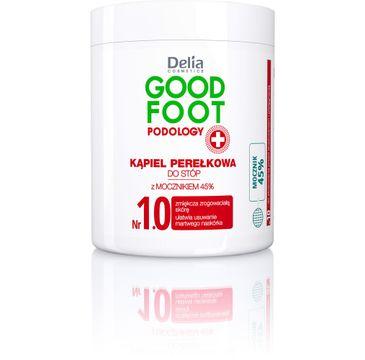 Delia Cosmetics Good Foot kąpiel perełkowa do stóp 45% mocznika 200 g