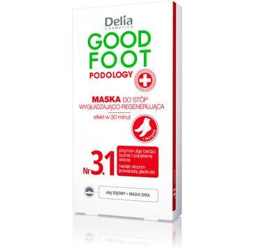 Delia Cosmetics Good Foot maska wygładzająco-regenerująca do stóp + skarpety 10 ml
