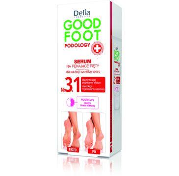 Delia Cosmetics Good Foot Podology Nr 3.1 serum na pękające pięty do bardzo suchej skóry 60 ml