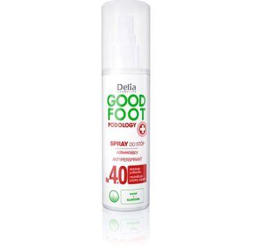 Delia Cosmetics Good Foot spray do stóp odświeżający 100 ml