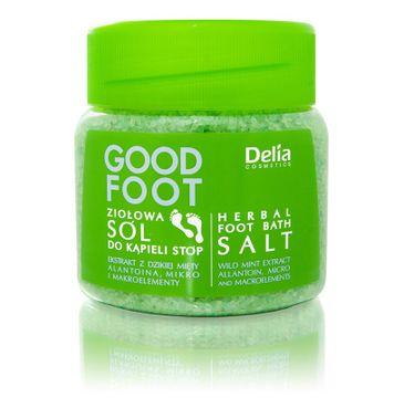 Delia Cosmetics Good Foot ziołowa sól do kąpieli 100 ml