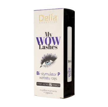 Delia Cosmetics My Wow Lashes Odżywka do rzęs z bimatoprostem 3 ml