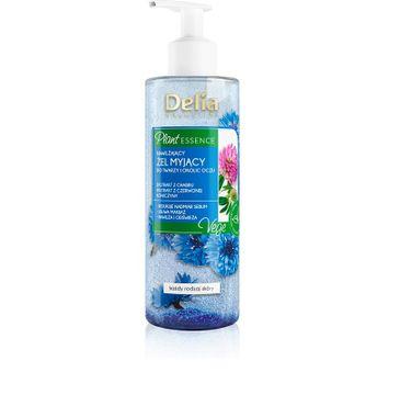 Delia Cosmetics Plant Essence Nawilżający Żel myjący twarzy i oczu (200 ml)
