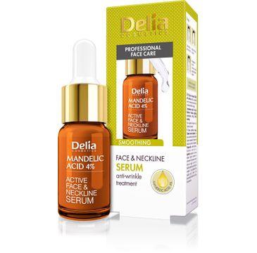 Delia Cosmetics Professional Face Care serum wygładzające z kwasem migdałowym 4% 10 ml