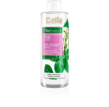 Delia Plant Essence Nawilżająco-łagodzący tonik do twarzy (200 ml)