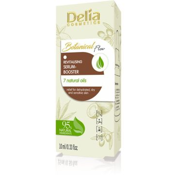 Delia – Rewitalizujące serum-booster 7 naturalnych olejów Botanical Flow (10 ml)