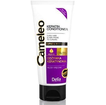Delia Cameleo Odżywka keratynowa włosy kręcone (200 ml)