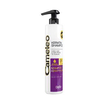 Delia Cameleo Keratynowt szampon do włosów kręconych (250 ml)