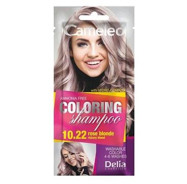 Delia Cameleo Szampon koloryzujący 10.22 Różany Blond (40 ml)