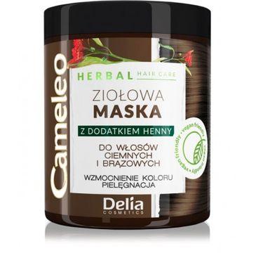 Delia 鈥� Cameleo Herbal maska zio艂owa Maska br膮zowa (250 ml)