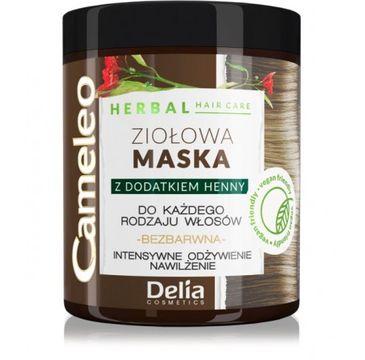 Delia 鈥� Cameleo Herbal maska zio艂owa z dodatkiem henny do ka偶dego rodzaju w艂os贸w (250 ml)