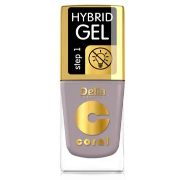 Delia – Lakier hybrydowy Coral nr 57 kawa (11 ml)