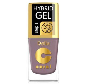 Delia – Lakier hybrydowy Coral nr 58 różany (11 ml)