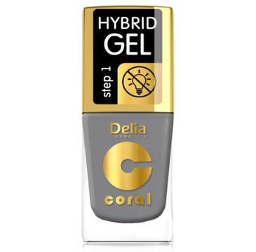 Delia – Lakier hybrydowy Coral nr 59 stalowy (11 ml)