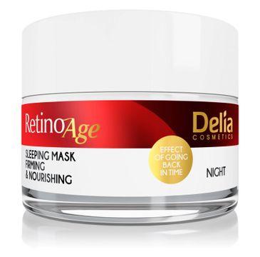 Delia – Retino Age odżywczo-ujędrniająca krem-maska na noc (50 ml)