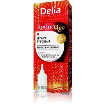 Delia 鈥� Retino Age od偶ywczy krem 鈥嬧�媝od oczy z kwasem hialuronowym (15 ml)