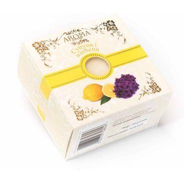 Delicate Organic Naturalne mydło w kostce Cytryna & Werbena 150g