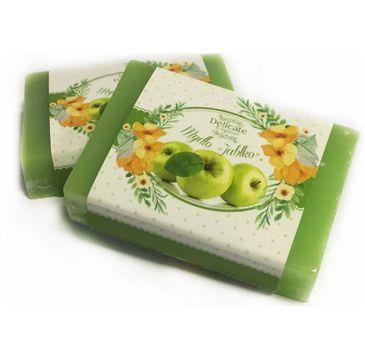 Delicate Organic Naturalne mydło w kostce Jabłko 80g