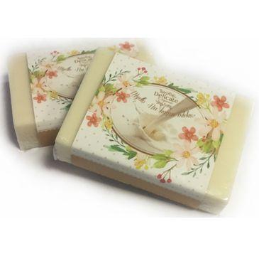 Delicate Organic Naturalne mydło w kostce Kozie Mleko 80g