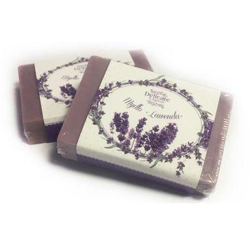 Delicate Organic Naturalne mydło w kostce Lawenda 80g