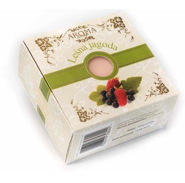 Delicate Organic Naturalne mydło w kostce Leśna Jagoda 150g