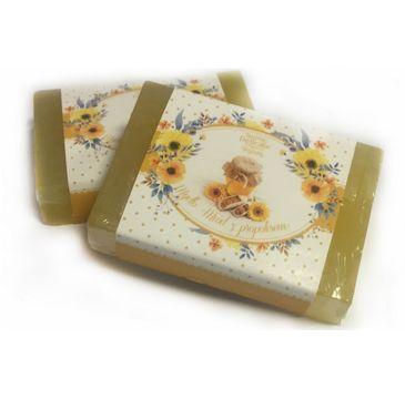 Delicate Organic Naturalne mydło w kostce Miód i Propolis 80g