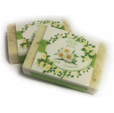Delicate Organic Naturalne mydło w kostce Rumianek 80g