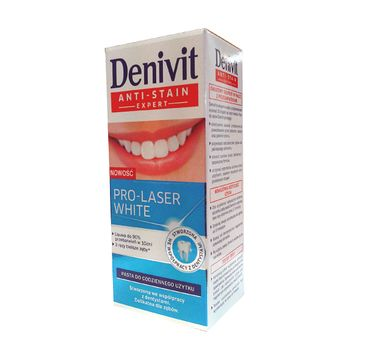 Denivit Pro-Laser White pasta do zębów  50 ml