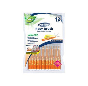 DenTek Easy Brush szczoteczka do przestrzeni międzyzębowych rozmiar 1 (12 szt.)