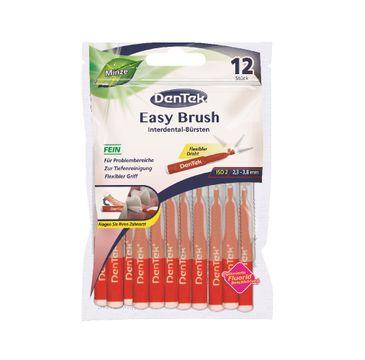 DenTek Easy Brush szczoteczka do przestrzeni międzyzębowych rozmiar 2 (12 szt.)