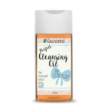 Nacomi –  Cleansing Oil olejek do demakijażu metodą OCM do cery suchej (150 ml)