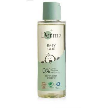 Derma Eco Baby Oil łagodna oliwka do ciała 150ml