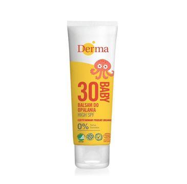 Derma Eco Baby SPF30 balsam przeciwsłoneczny dla dzieci 75ml