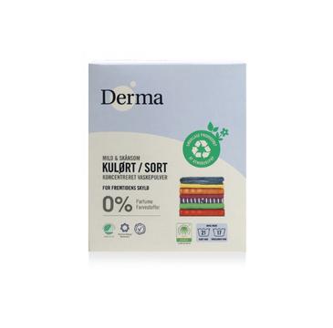 Derma Skoncentrowany proszek do prania kolorowych i czarnych ubrań 775g