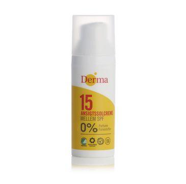 Derma Sun krem przeciwsłoneczny do twarzy SPF15 50ml
