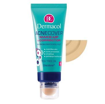 Dermacol Acnecover Make-Up & Corrector podkład z korektorem do skóry trądzikowej 02 30ml