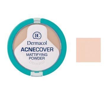 Dermacol Acnecover Mattifying Powder puder matujący w kompakcie 01 Porcelain 11g