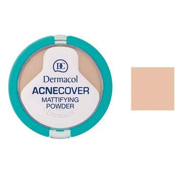 Dermacol Acnecover Mattifying Powder puder matujący w kompakcie 02 Shell 11g