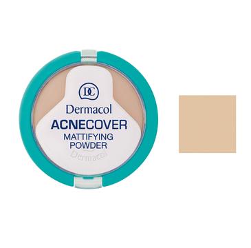Dermacol Acnecover Mattifying Powder puder matujący w kompakcie 04 Honey 11g