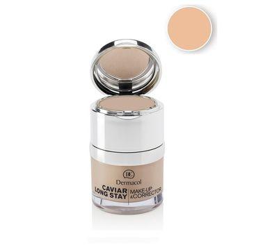 Dermacol Caviar Long Stay Make-Up & Corrector podkład do twarzy z korektorem 01 Pale 30ml