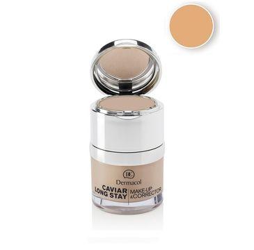 Dermacol Caviar Long Stay Make-Up & Corrector podkład do twarzy z korektorem 03 Fair 30ml